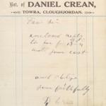 1923 GC Daniel Crean Cloughjordan