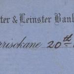 1924 GC Munster & Leinster Bank Borrisokane