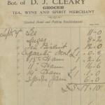 1926 GC D.J. Cleary Borrisokane