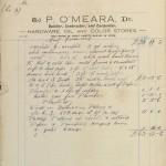 1926 GC P O'Meara Borrisokane