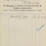 1927 GC John Stapleton