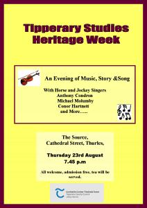 Heritage week event