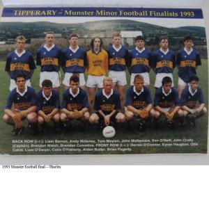 Tipperary minors 1993