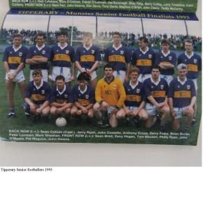Tipperary senior footballers 1993