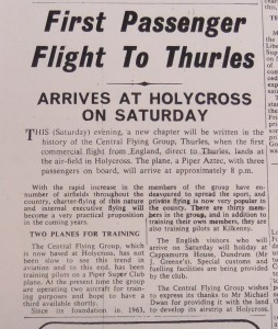 flights to Thurles