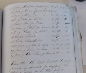 list for emigration 1849