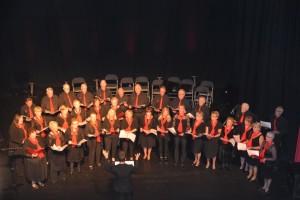 Horse and Jockey choir 1