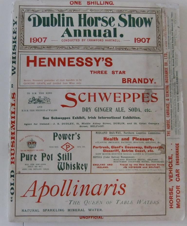 Dublin Horseshow Memorabilia