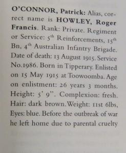 war dead august 1