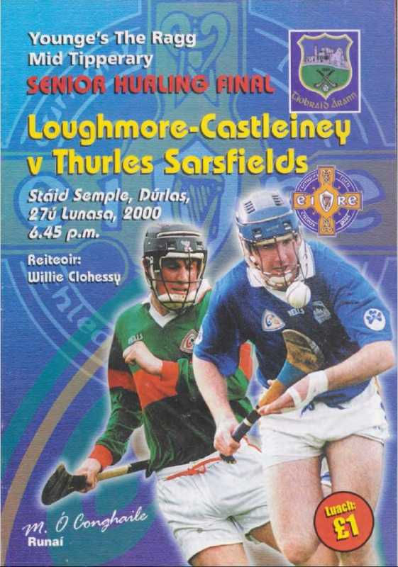2000 Mid-Tipperary Senior Hurling Final