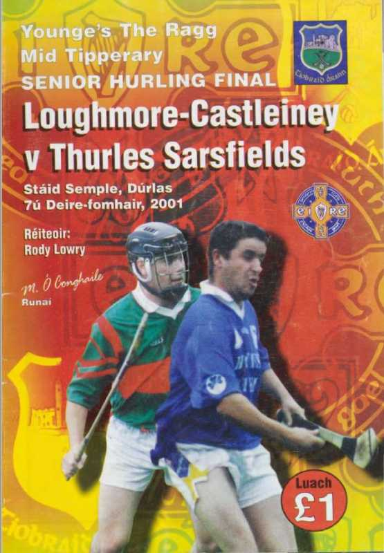 2001 Mid Tipperary Senior Hurling Final