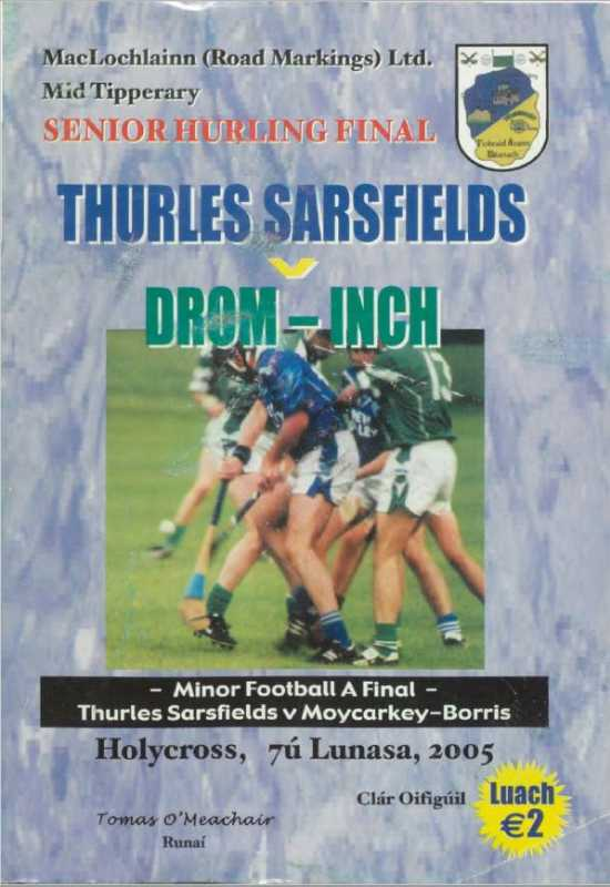 2005 Mid Tipperary Senior Hurling Final
