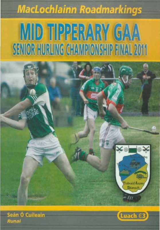 2011 Mid Tipperary Senior Hurling Final
