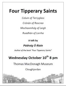 Four tipperary saints