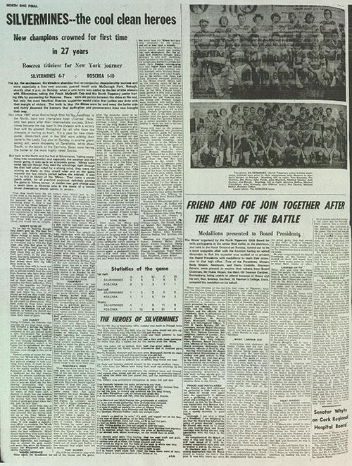 1974 North Hurling Final