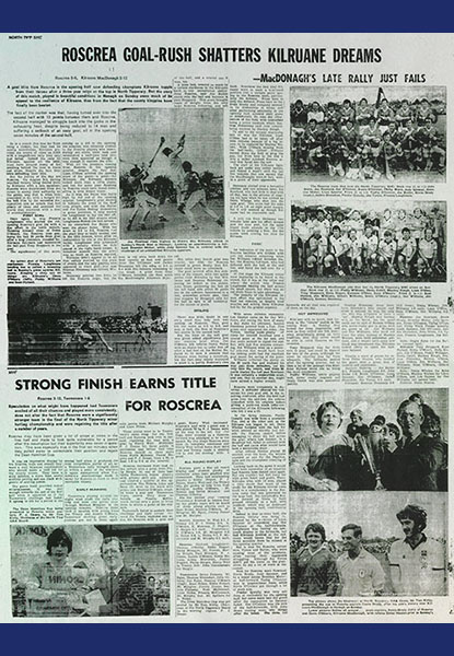 1980 North Hurling Final Replay Cover
