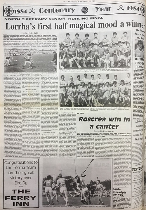 1984 North Hurling Final