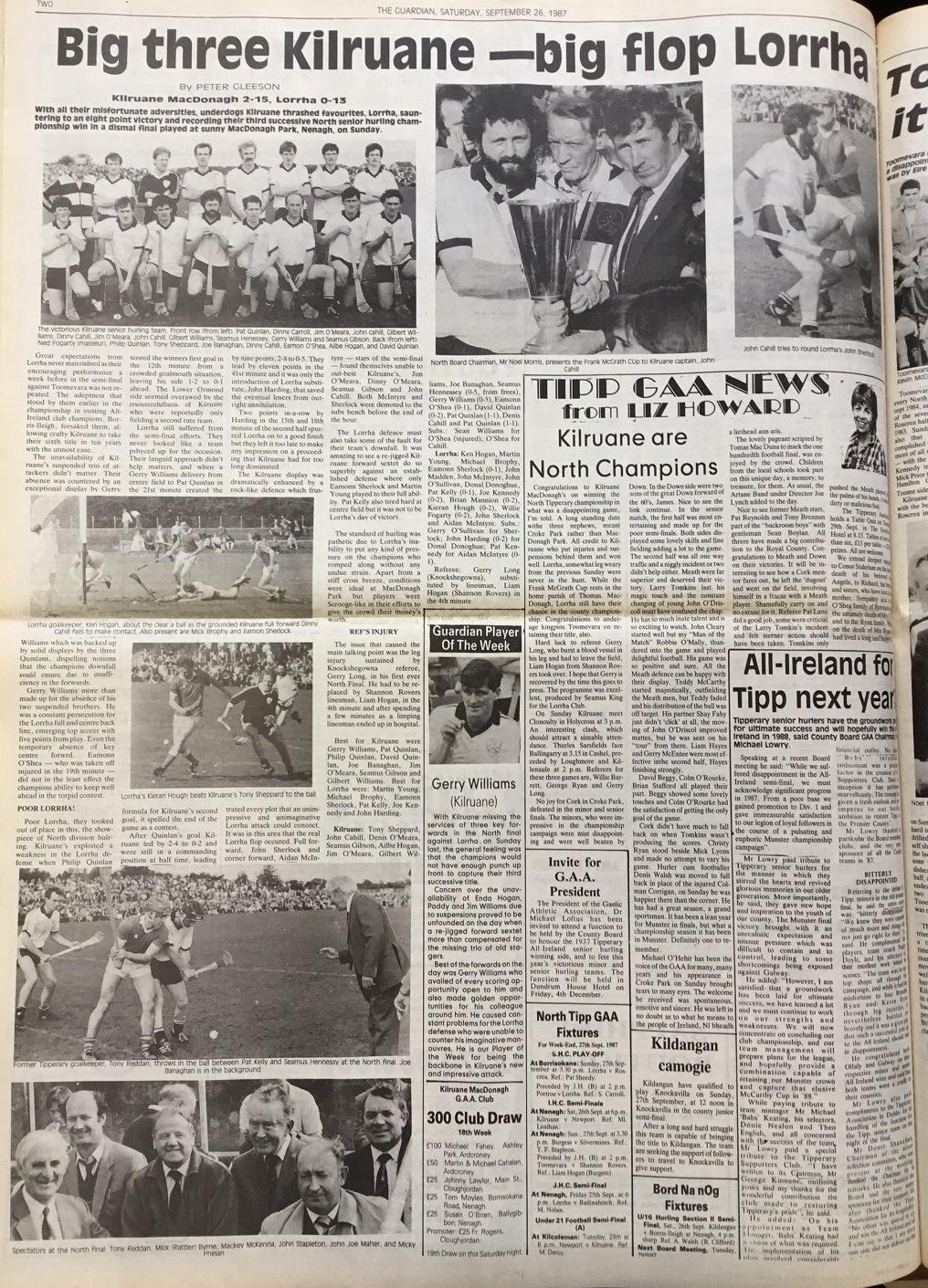 1987 North hurling final