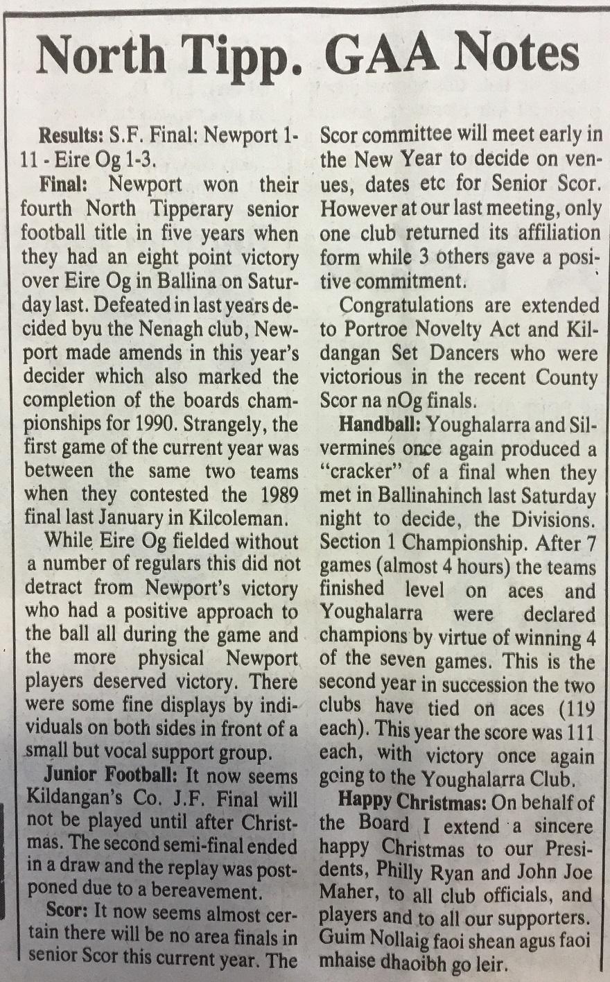 1990 North football final b