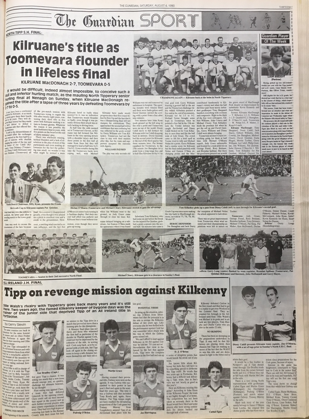 1990 North hurling final