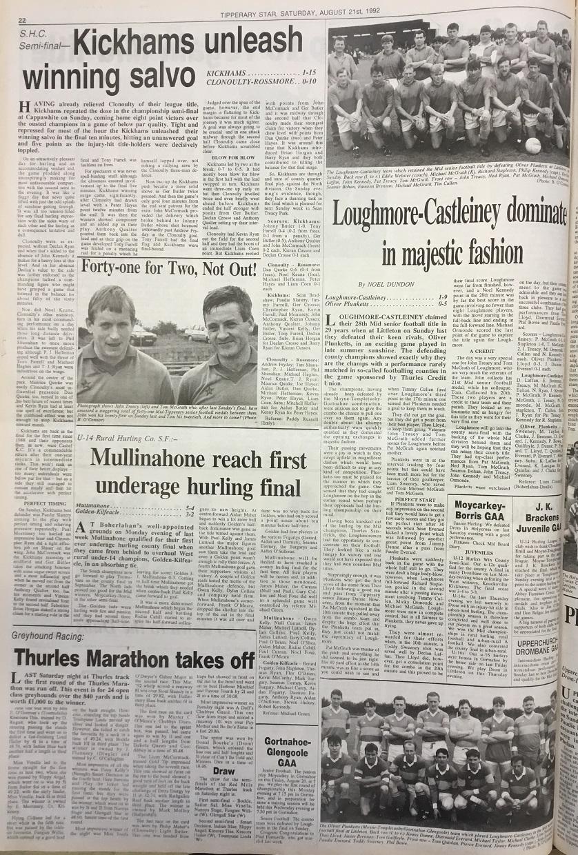 1992 Mid football final