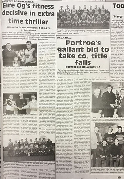 1995 North Football Final Replay Cover