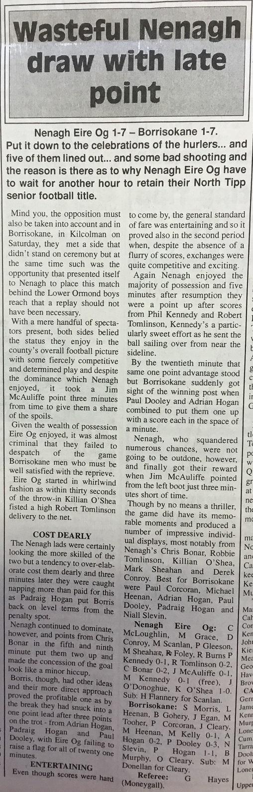 1995 North football final