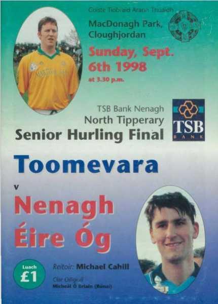 1998 North Tipperary Senior Hurling Final