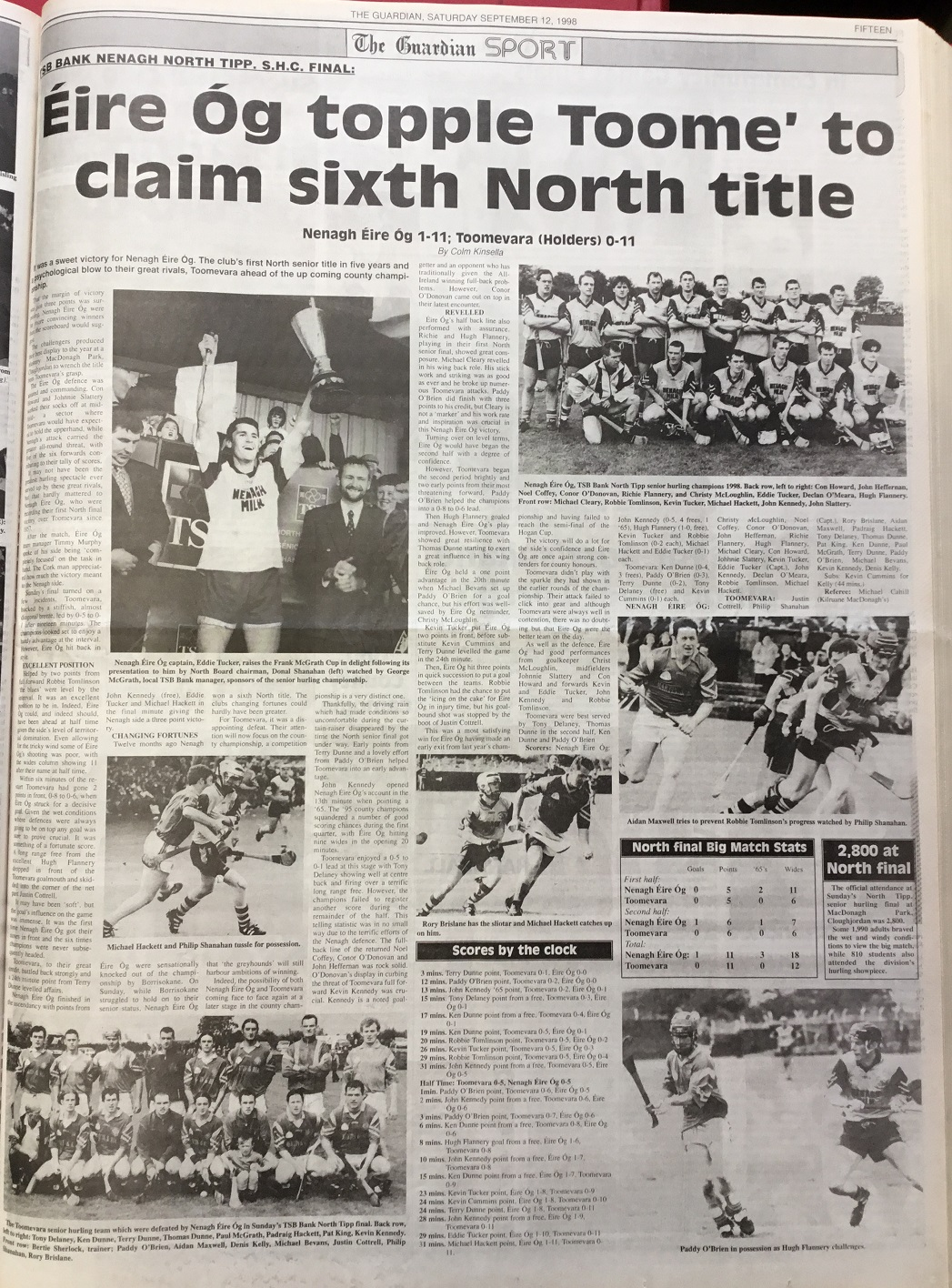 1998 North hurling final