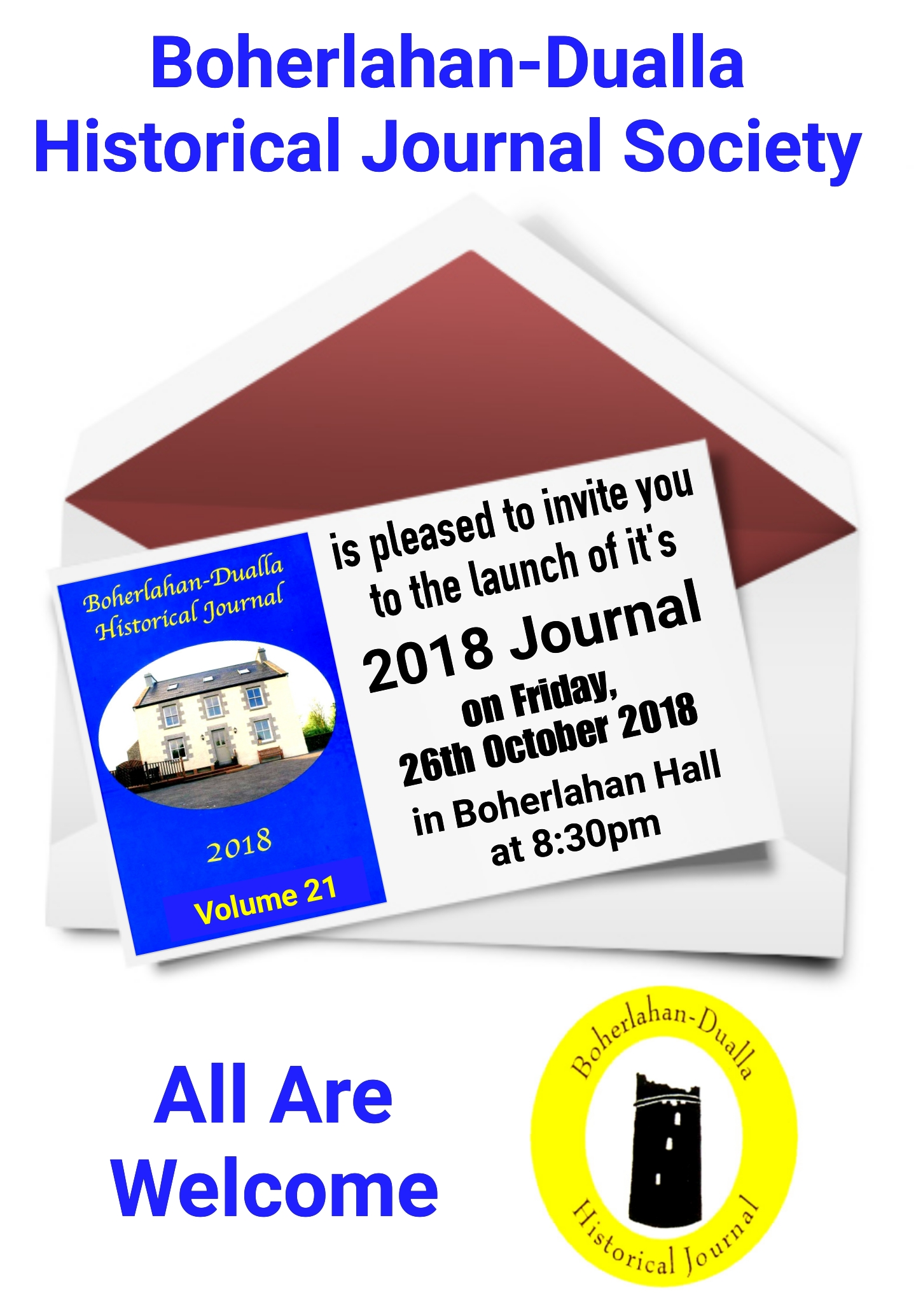 Boherlahan Dualla Historical Journal 2018 Launch