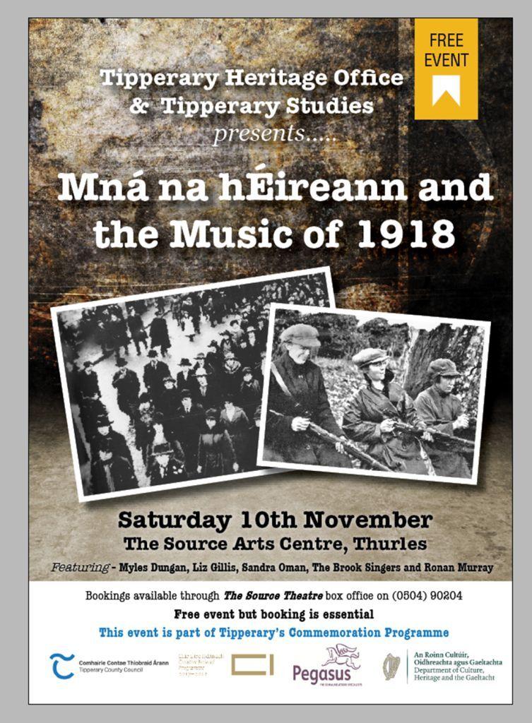 Mná Na HÉireann And The Music Of 1918