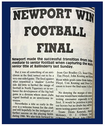 North Tipp Football Main