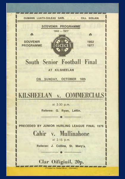 1977 South Tipperary Senior Football Final C