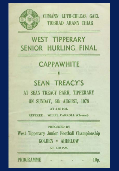 1978 West Tipperary Senior Hurling Final C
