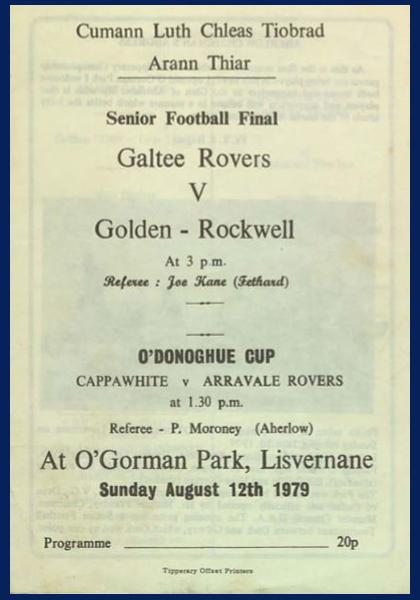1979 West Tipperary Senior Football Final C