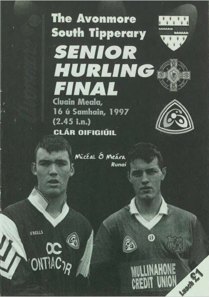 1997 South Tipperary Senior Hurling Final