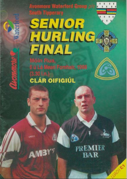 1998 South Tipperary Senior Hurling Final