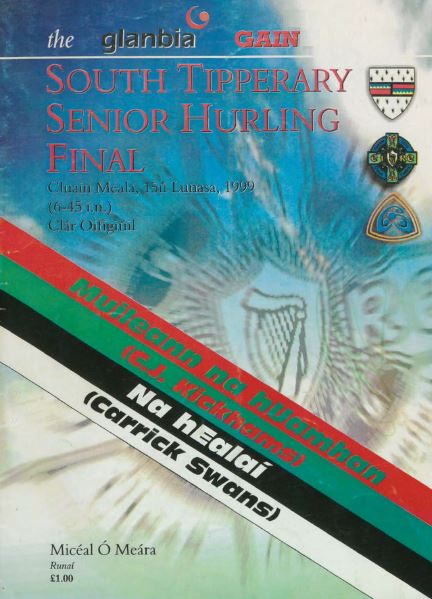 1999 South Tipperary Senior Hurling Final