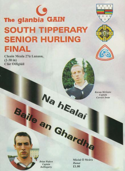 2000 South Tipperary Senior Hurling Final