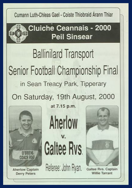 2000 West Tipperary Senior Football Final C