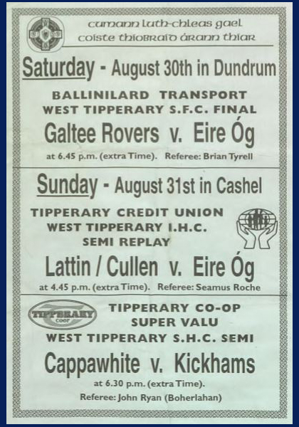 2003 West Tipperary Senior Football Final C