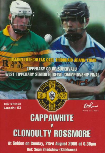 2009 West Tipperary Senior Hurling Final