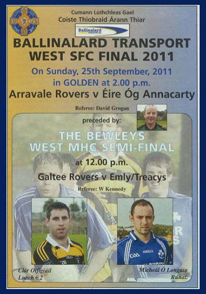 2011 West Tipperary Senior Football Final C