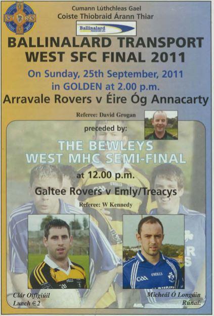 2011 West Tipperary Senior Football final