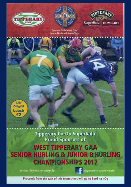 2017 West Tipperary Senior Hurling Final C