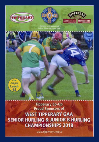 2018 West Tipperary Senior Hurling Final C