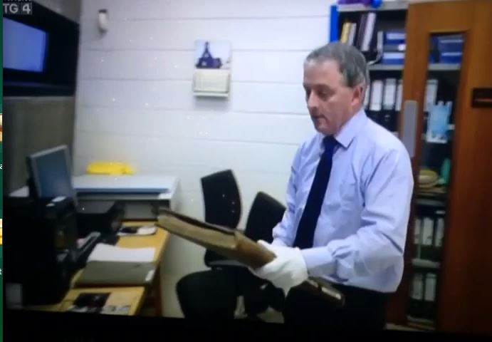 TG4 Reports On Digitisation Of Cashel Registers