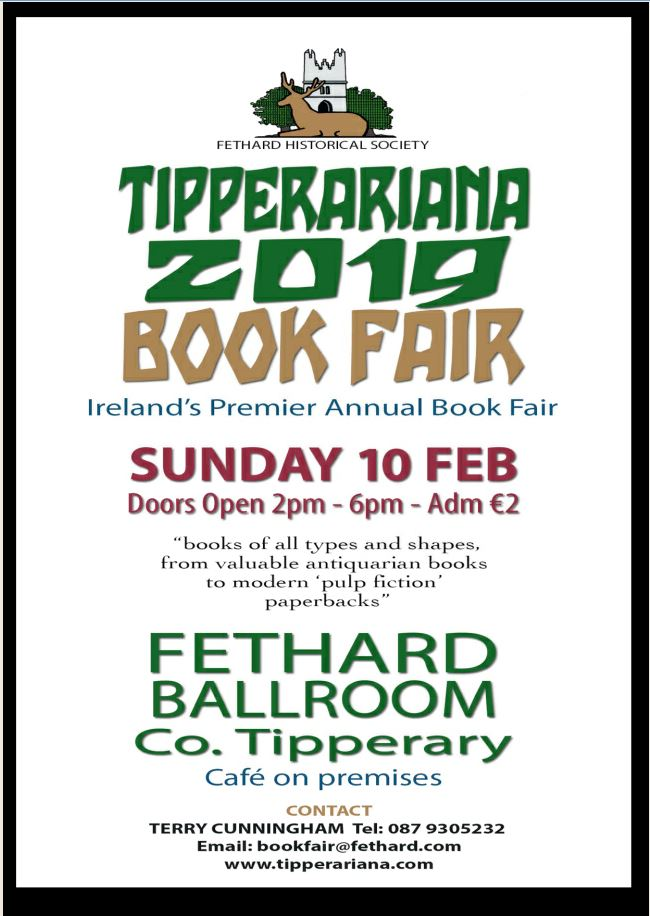 Tipperariana Book Fair- Fethard