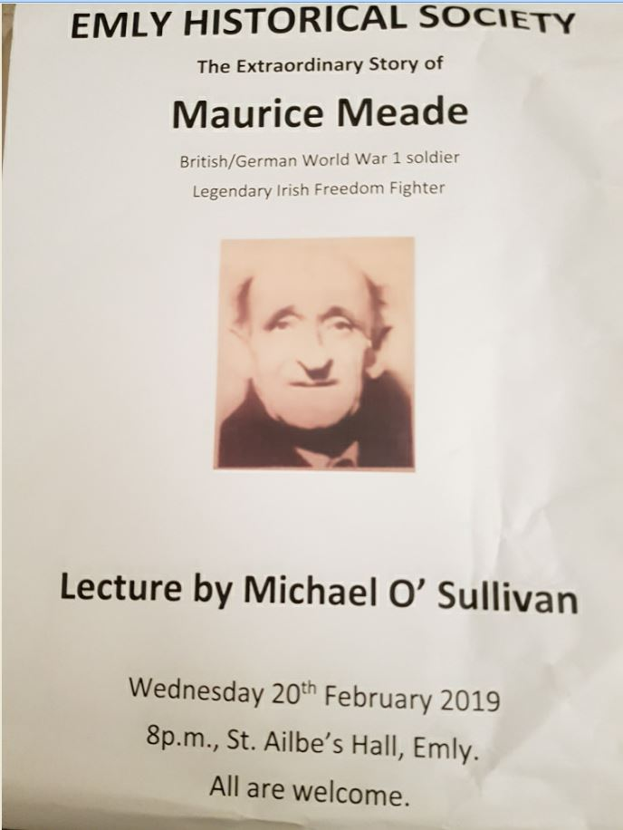 Emly Historical Society Lecture