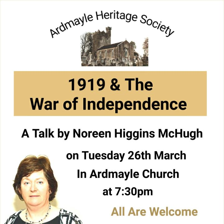 Ardmayle Historical Society Lecture
